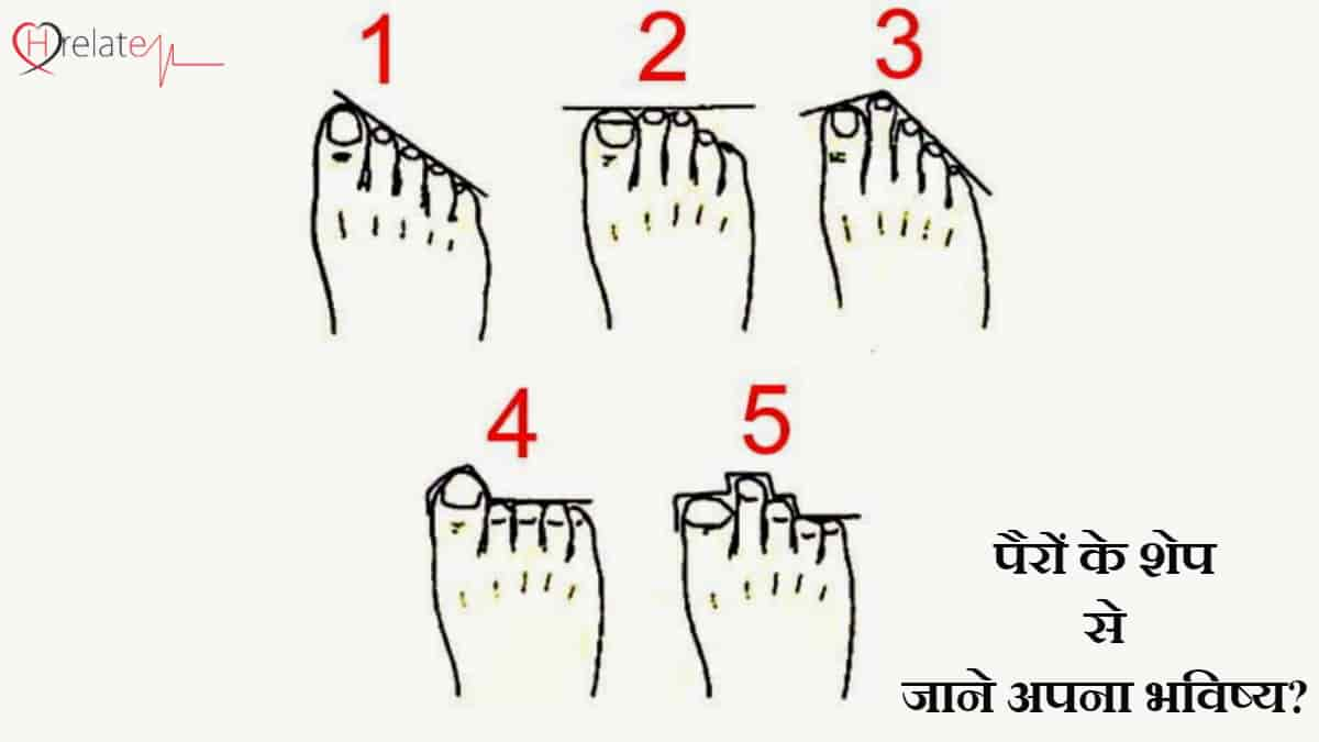Foot Shape Astrology