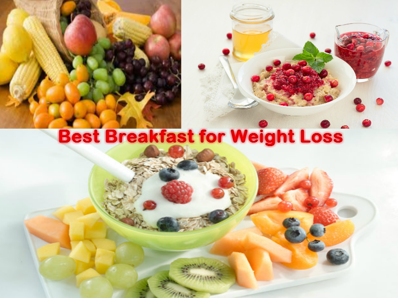 the ideal breakfast for weight loss