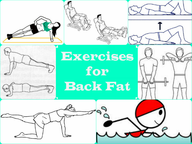 Few Easy and Effective Exercises for Back Fat