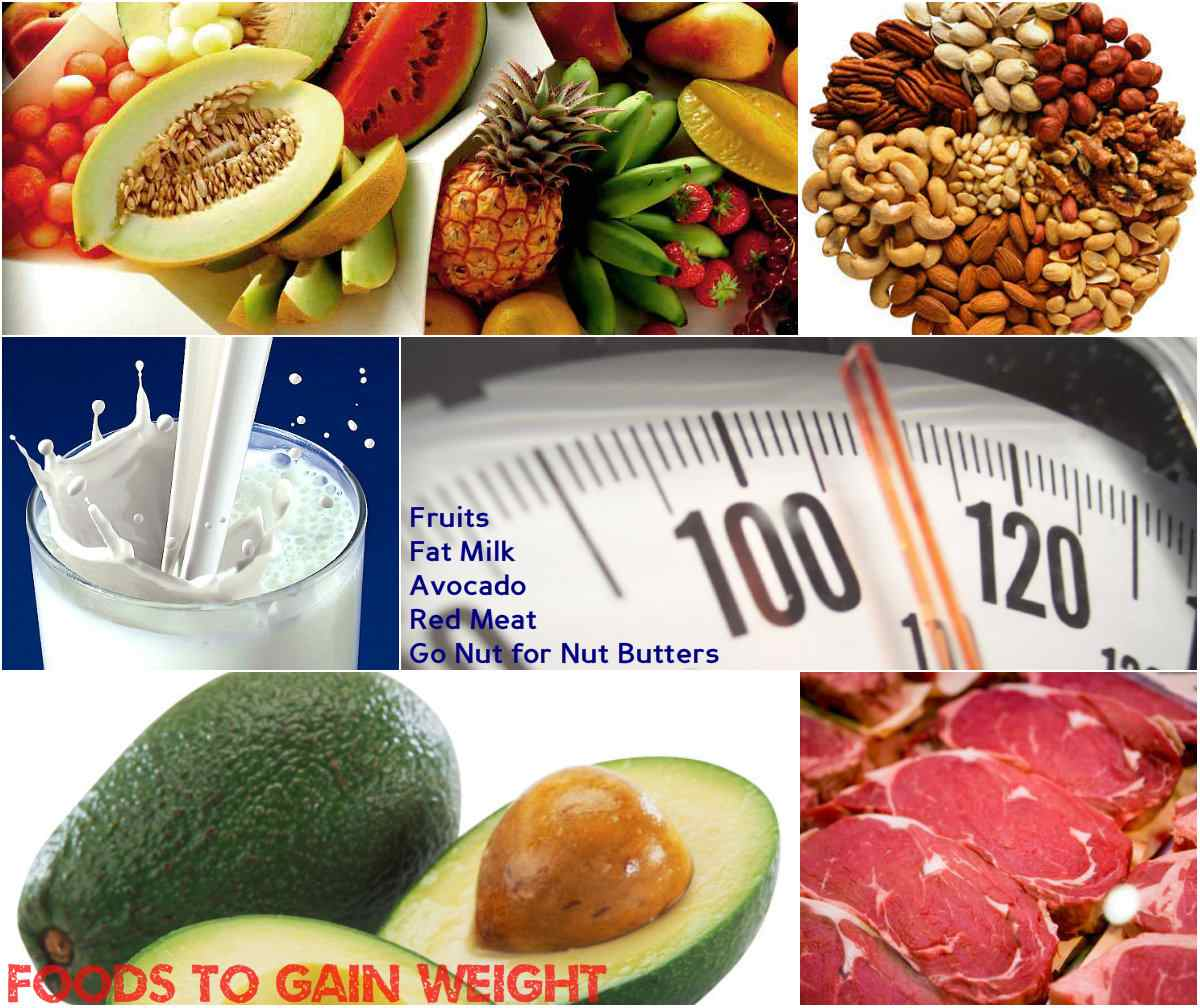Foods to Gain Weight