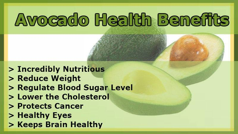 Tremendous avocado health benefits with great taste