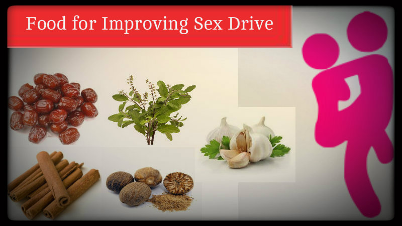 Foods to improve sexual arousal