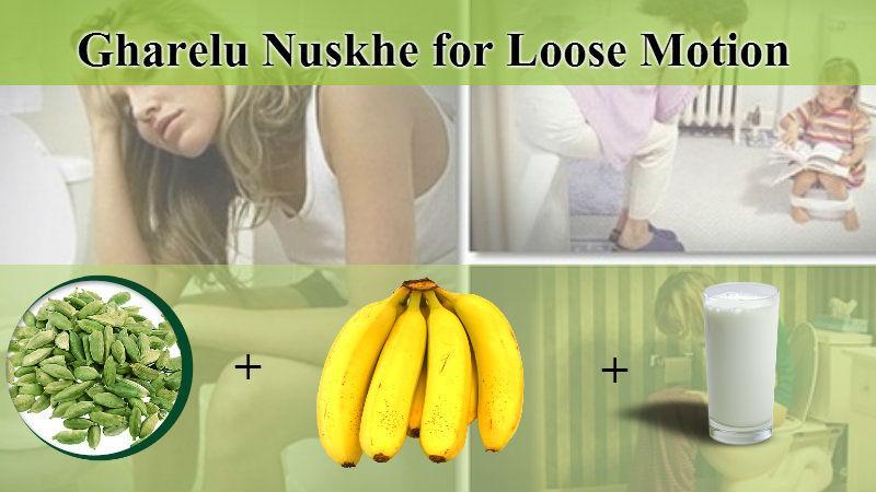 Gharelu Nuskhe for Loose Motion