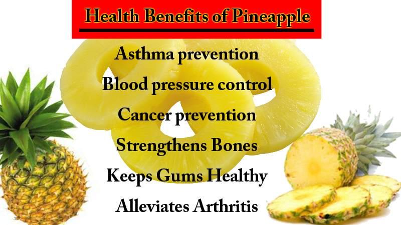 Pineapple-Health Benefits