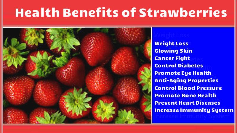 Health Benefits of Strawberries
