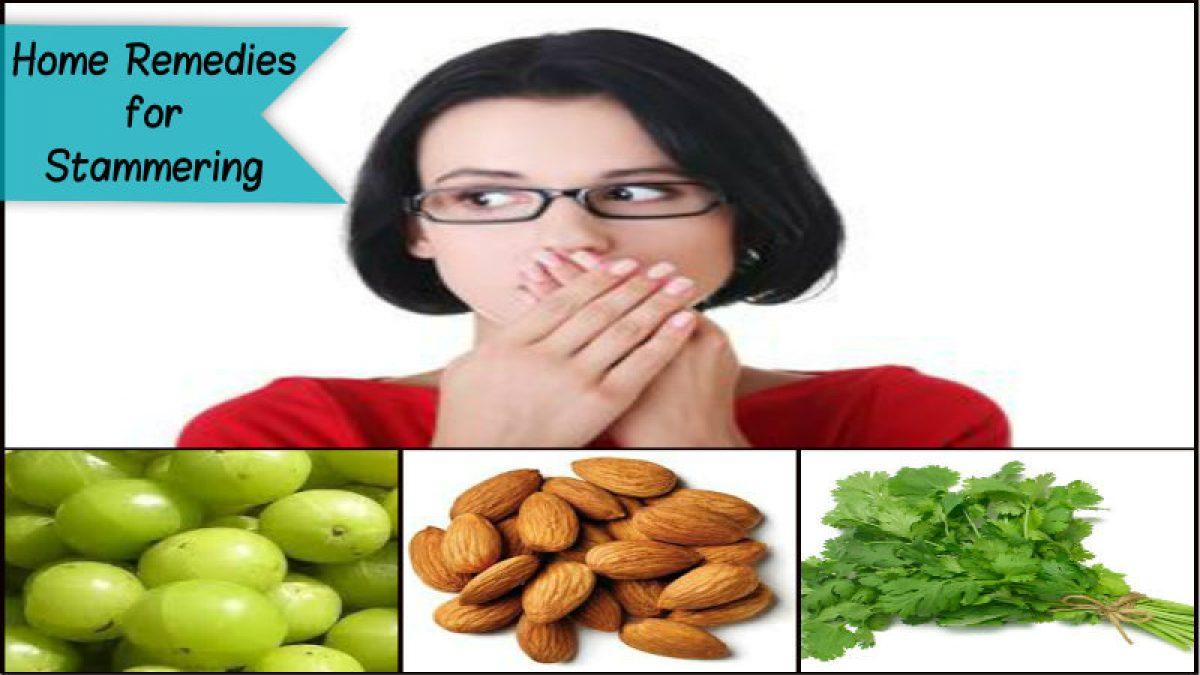 Stammering remedies for Stammering