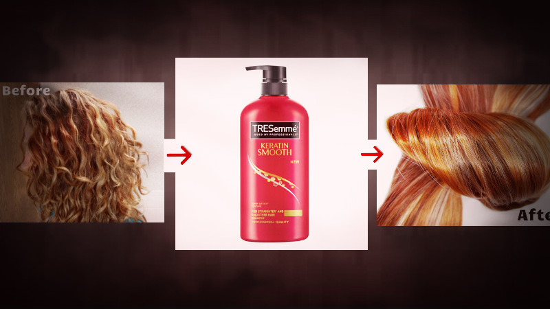How to use tresemme shampoo and conditioner in hindi