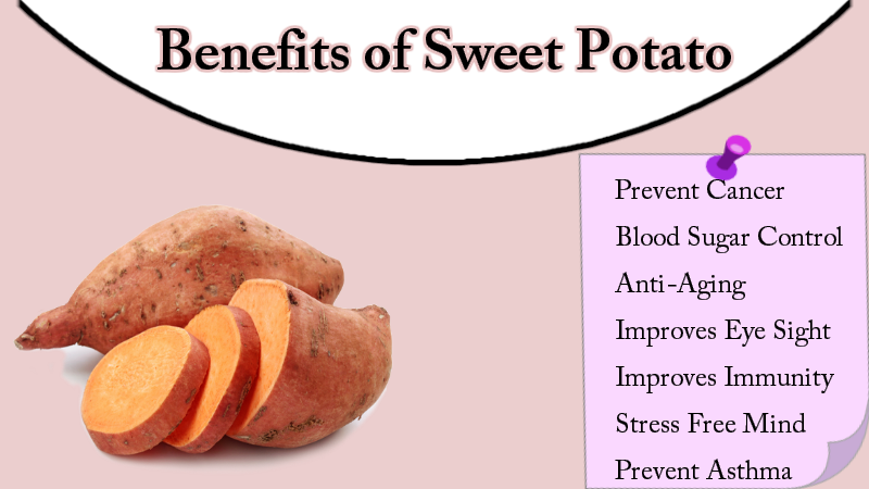 Benefits of sweet potato