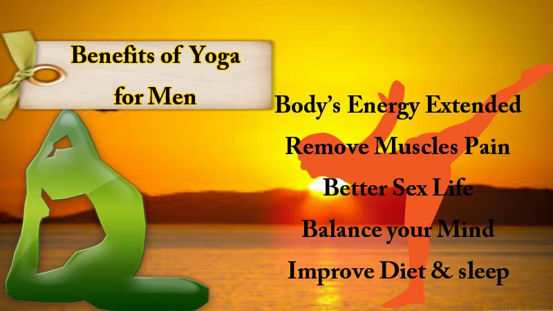 Benefits yoga for men
