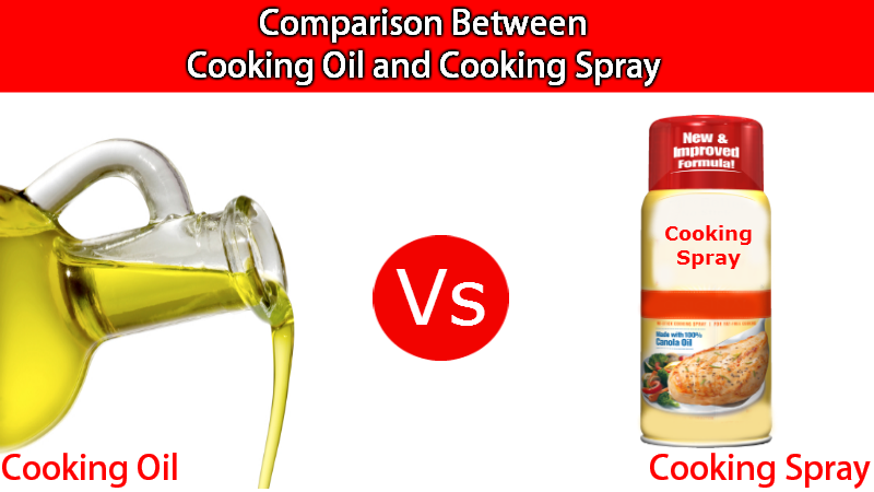 Cooking Oil and Cooking Spray