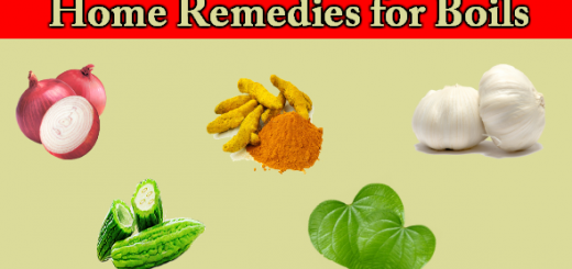 Home Remedies for Boils
