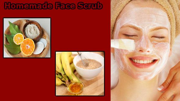 Homemade Face Scrub