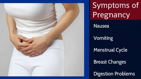 Symptoms of Pregnancy in Hindi