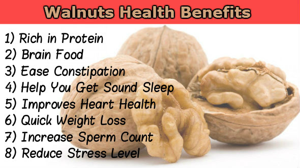 ALL PROBLEMS SOLUTIONS : Health Benefits of Walnuts (Akhrot)