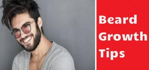 Beard Growth Tips