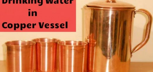 Benefits of Drinking Water from Copper Vessel