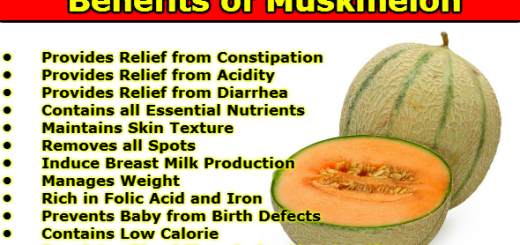 Benefits of Muskmelon