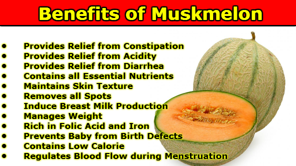 Benefits of Muskmelon