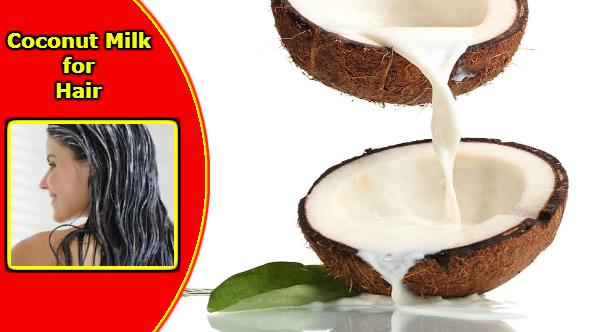 Coconut Milk for Hair