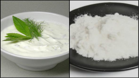 Curd and Rice Flour