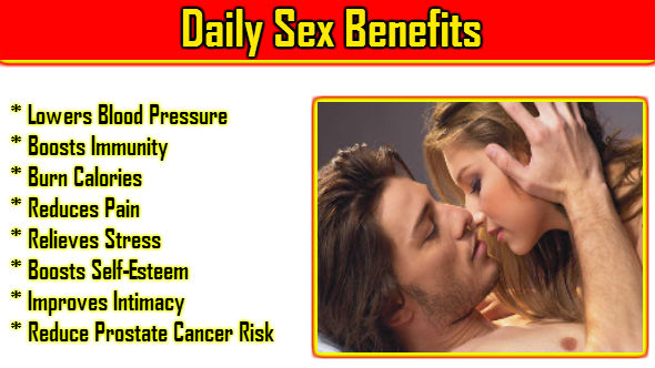 Daily Sex Benefits