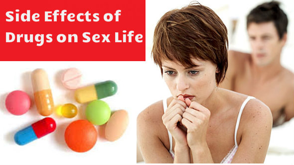 Drugs effects on men sex
