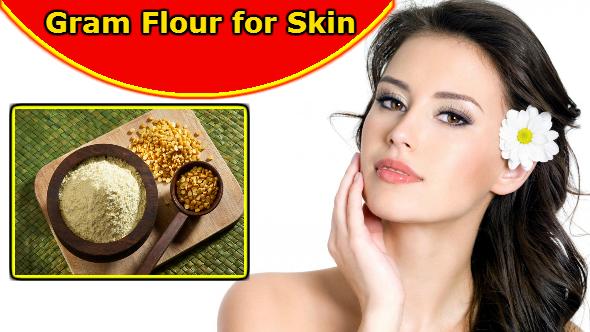 Gram Flour for Skin