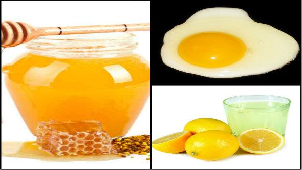 Honey, Lemon Juice and Egg