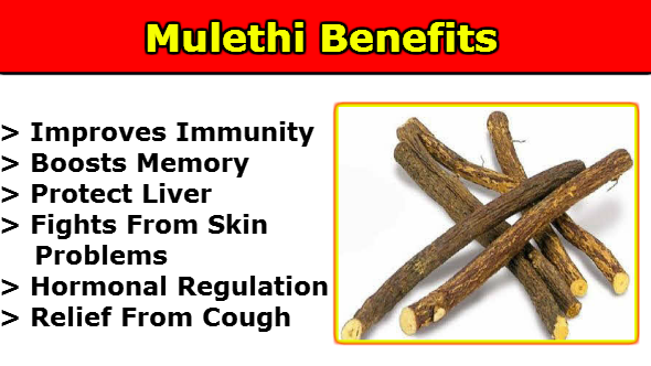 Mulethi Benefits in Hindi
