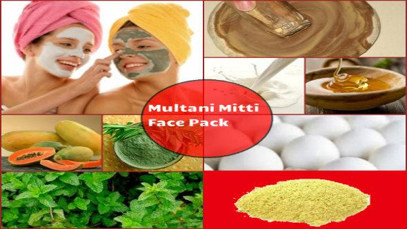Multani Mitti Face Pack in Hindi