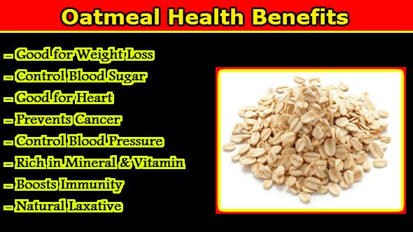 Oatmeal Health Benefits