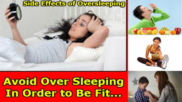 Side Effects of Oversleeping