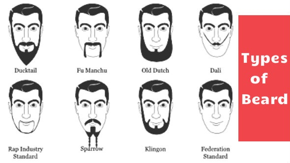Types of Beard