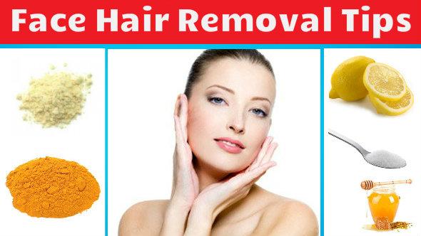 face hair removal tips in hindi