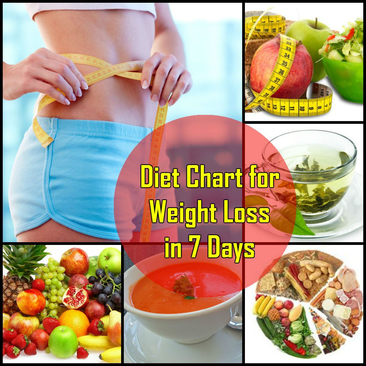 Diet Chart for Weight Loss in 7 Days in Hindi