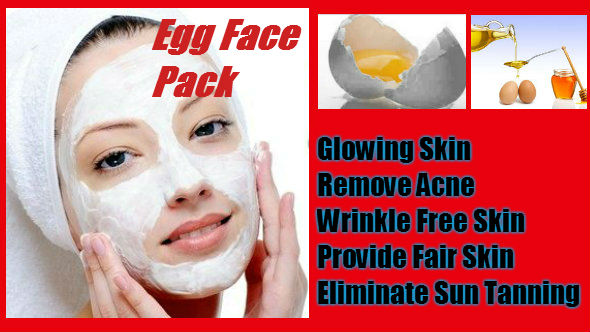 Egg Face Pack in Hindi