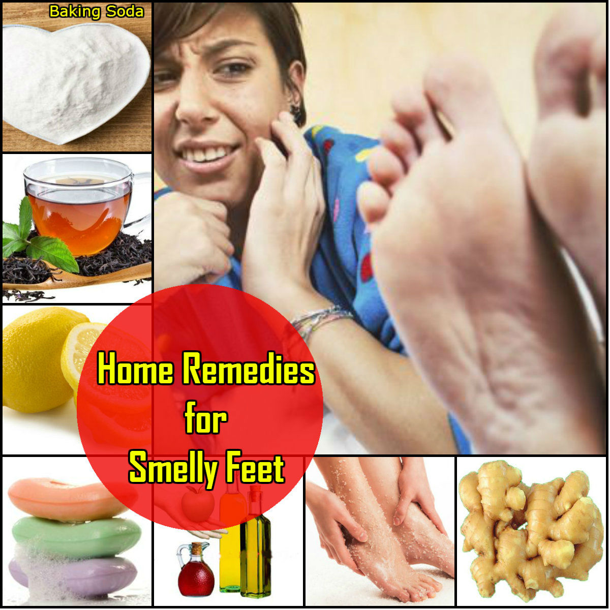 Home Remedies for Smelly Feet-Pairo ki Gandh