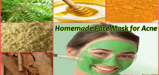 Homemade Face Mask for Acne