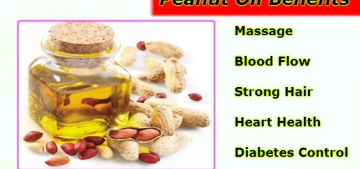 Peanut Oil Benefits