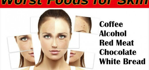Worst Foods for Skin
