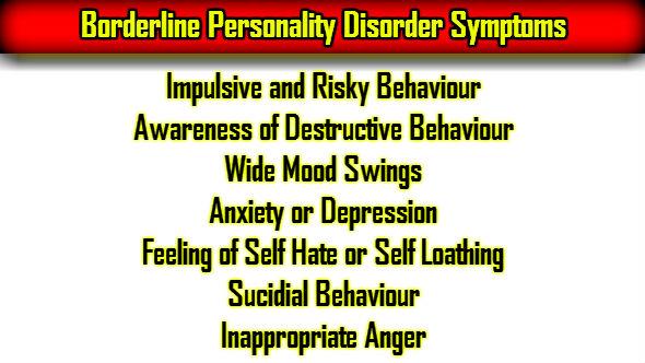 Borderline Personality Disorder Symptoms in Hindi