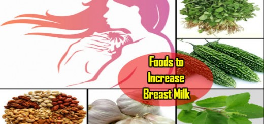 Foods to Increase Breast Milk