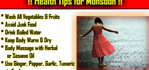 Healthy Tips in Hindi for Monsoon