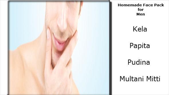 Homemade Face Pack for Men