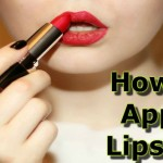 Janiye Kuch Simple Steps mai How to Apply Lipstick in Hindi