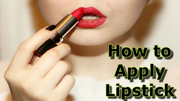 How to Apply Lipstick in Hindi