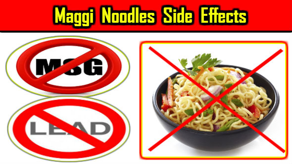 Maggi Noodles Side Effects