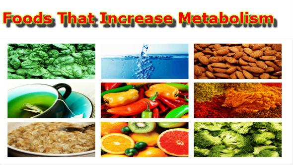 Foods That Increase Metabolism