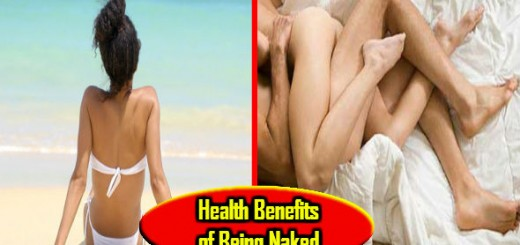 Health Benefits of Being Naked