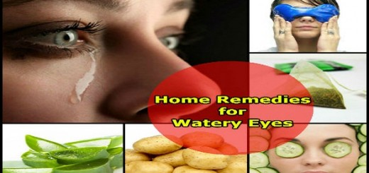Home Remedies for Watery Eyes in Hindi